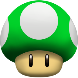 1up, Mushroom Icon