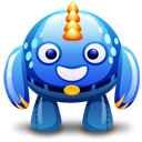 Blue, Monster Icon
