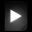 File, Movie Icon