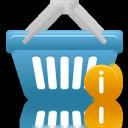 Basket, Info, Shopping Icon