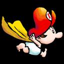 Baby, Mario, Super Icon