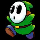 Green, Shyguy Icon