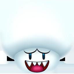 Boo, Mushroom Icon