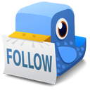 Bird, Follow Icon