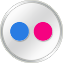 Flickrwhite Icon