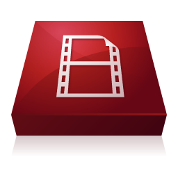 Adobe, Encoder, Flash, Video Icon