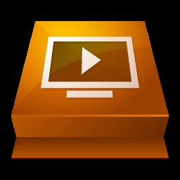 Adobe, Media, Player, Shaded Icon