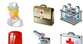 Real Vista Medical Icons