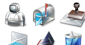 Real Vista Mail Icons