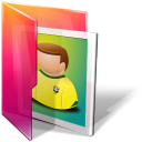 Aurora, Folders, Icontexto, Pictures Icon
