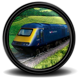 Rail, Simulator Icon