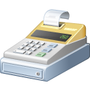 Cash, Register Icon