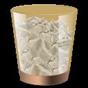 Bin, Full, Recycle Icon