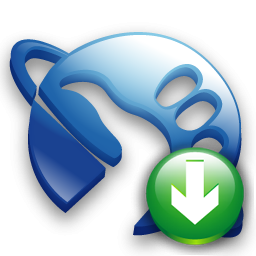 Down, Hitchhikeguidetogalaxy Icon