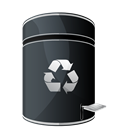 Dock, Empty, Hp, Recycle Icon