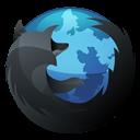 Dock, Firefox, Hp, Inverse Icon