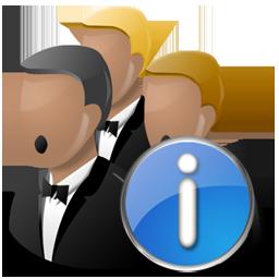 Info, Network Icon