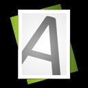 Alt, File, Font Icon