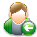 Back, Hitchhikeguidetogalaxy Icon