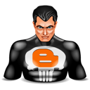 Blogger, Punisher Icon