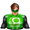 Greenlantern, Technorati Icon
