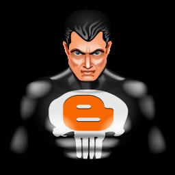 Blogger, Punisher Icon