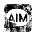 Aim, Logo, Square Icon