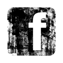 Facebook, Grunge, Logo, Square Icon