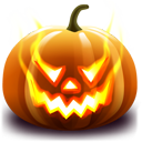 Halloween, Jack, Lantern, Pumpkin Icon