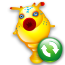 Hitchhikeguidetogalaxy, Refresh Icon