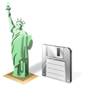 Estatuadelalibertad, Save Icon