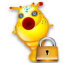 Hitchhikeguidetogalaxy, Lock Icon