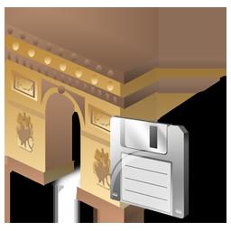 Arcodeltriunfo, Save Icon