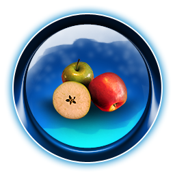 Apple, Christmas, Dooffy, Ikony Icon