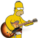 Band, Garage, Homer Icon