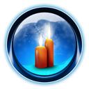 Candles, Christmas, Dooffy, Ikony Icon