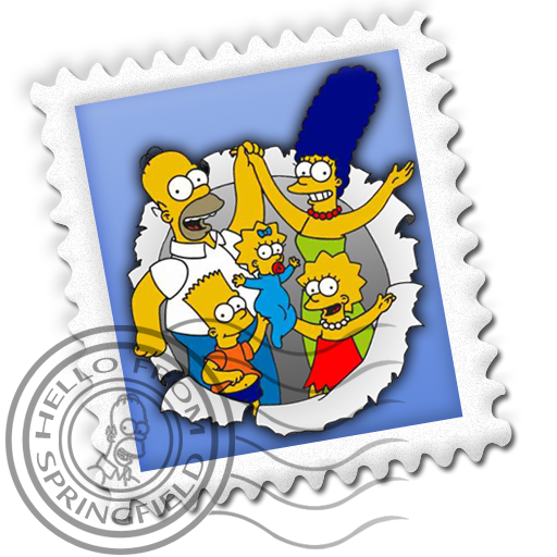 Mail, Simpsons Icon