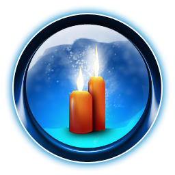 Candles, Christmas, Dooffy, Ikony Icon