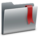 3d, Bookmarks Icon