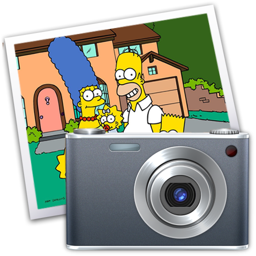 Iphoto, Simpsons Icon