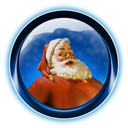 Christmas, Dooffy, Ikony, Santa Icon