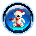 Bear, Christmas, Dooffy, Ikony Icon