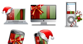 Christmas Gadgets Icons