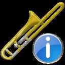 Info, Trombone Icon