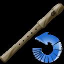Flute, Reload Icon