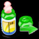 Bottle, Feeding, Next Icon
