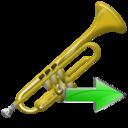Next, Trumpet Icon