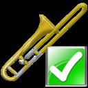 Ok, Trombone Icon