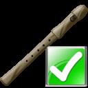 Flute, Ok Icon