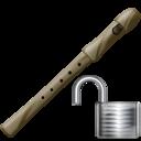 Flute, Unlock Icon